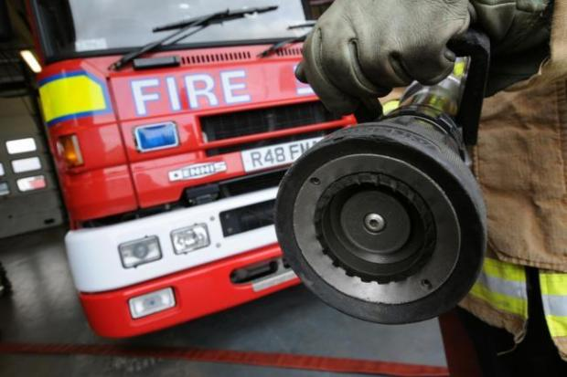 The fire service will make cuts totalling £1.35 million